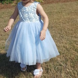 Cherokee Target Light Blue Tutu Tulle Dress